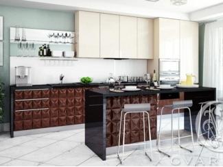 Высокая прямая кухня CENTURION - Мебельная фабрика «GVARNERI»