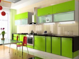 Кухонный гарнитур прямой Лайм