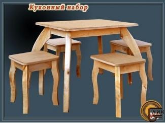Кухонный набор из дерева - Мебельная фабрика «Лик»