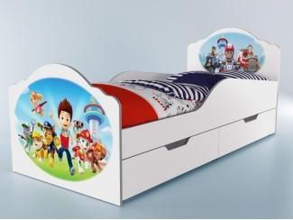 Кровать детская  Щенячий патруль - Мебельная фабрика «GRIFON»
