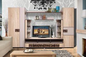 Гостиная Малибу - Мебельная фабрика «КМК»