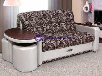 Диван прямой со столиком Эдем 4 - Мебельная фабрика «Скорпион», г. Кузнецк