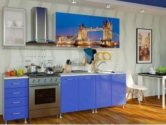 Кухня с фотопечатью 007 - Мебельная фабрика «Гранд Мебель»