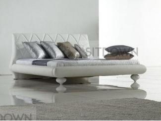 Классическая кожаная кровать Таро  - Мебельная фабрика «Sitdown»