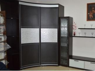 Радиусный шкаф-купе в спальню - Мебельная фабрика «Вектра-мебель»