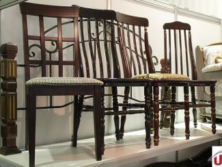 Мебельная выставка Краснодар: Стул массив - Мебельная фабрика «Алина-мебель»