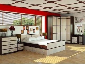 Спальный гарнитур Сакура 2 - Интернет-магазин «ГОСТ Мебель»