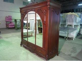 Большой распашной шкаф с зеркалом - Мебельная фабрика «Максик»