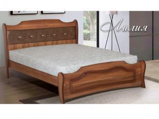Кровать Лилия М 6 - Мебельная фабрика «Селена»
