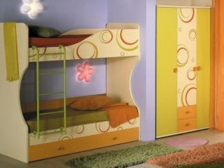 детская Фруттис (комплектация 3) - Мебельная фабрика «Любимый дом (Алмаз)»