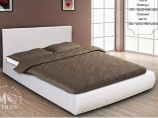 Кровать Эко в спальню  - Мебельная фабрика «М-Стиль»
