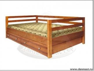 Односпальная кровать с ящиками Малютка 2