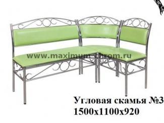 Кухонный уголок 3 - Мебельная фабрика «Максимум-хром»