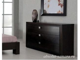Комод низкий венге - Мебельная фабрика «Абсолют»
