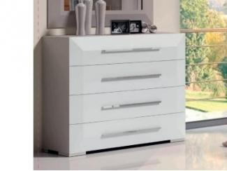 Стильный комод 4 ящика - Импортёр мебели «Spazio Casa»