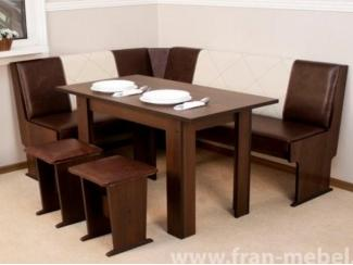 Мягкий кухонный уголок Остин 7  - Мебельная фабрика «Фран»
