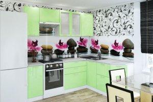 Кухонный гарнитур Базилика  - Мебельная фабрика «Славные кухни (ИП Ларин В.)»