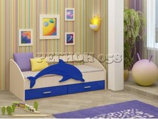 Детская кровать Дельфин 4 - Мебельная фабрика «Регион 058», г. Пенза