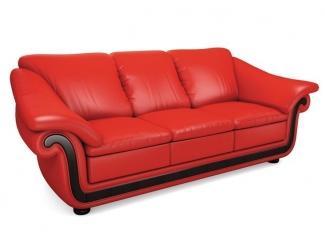 Красный диван Милан  - Мебельная фабрика «Лора», г. Нижний Новгород