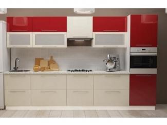 Красная кухня Рэд - Мебельная фабрика «Корвет»