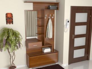 Прихожая прямая вишня - Изготовление мебели на заказ «Мега»