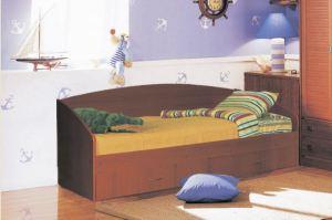 Кровать Софа 1 со спинкой - Мебельная фабрика «Аристократ»