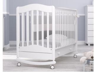 Детская кроватка-качалка Гандылян Ванечка - Мебельная фабрика «Гандылян»