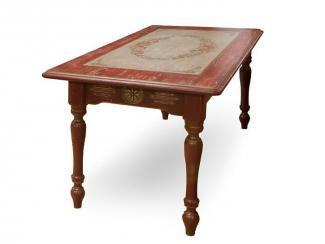 Стол из массива (Ст.B820.L1400.autumn) - Мебельная фабрика «Грин Лайн»