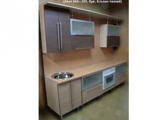 кухня прямая Визит К (Abet 660+389) - Мебельная фабрика «Киржачская мебельная фабрика»
