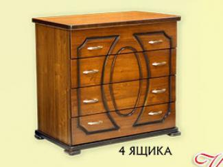 Комод «К-8» 4 ящика - Мебельная фабрика «Мебель Прогресс»