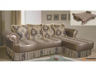 Диван угловой Альфа 9 выкатной - Мебельная фабрика «АльфаМебельПлюс»