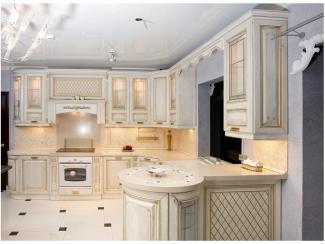Кухня угловая Глория патина - Мебельная фабрика «Вариант М»