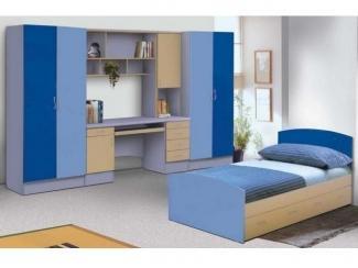 Спальня с синих тонах  - Мебельная фабрика «Перспектива»