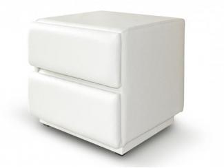 Белый пуфик  - Мебельная фабрика «Дуэт», г. Пенза