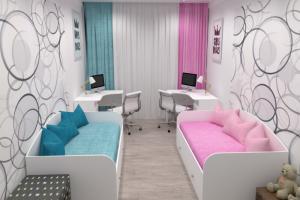 Белая детская комната Умка - Мебельная фабрика «Династия»