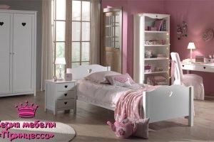 белая детская Принцесса - Мебельная фабрика «Массив мастер», г. Екатеринбург