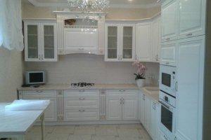 Белая глянцевая кухня - Мебельная фабрика «МК АртСити»