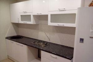 Белая глянцевая кухня - Мебельная фабрика «Агата»