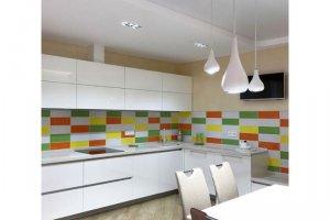Белая глянцевая кухня - Мебельная фабрика «Династия»