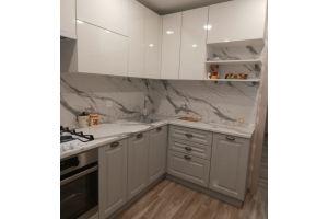 Белая глянцевая кухня - Мебельная фабрика «МЭК»