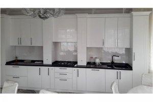 Белая глянцевая кухня - Мебельная фабрика «Прометей»