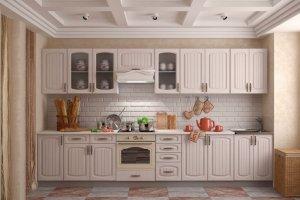 Белая кухня в стиле Прованс 2 - Мебельная фабрика «Вертикаль»