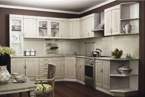 Белая кухня в стиле Прованс 1 - Мебельная фабрика «Вертикаль»