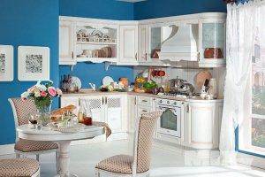 Белая классическая кухня Ликата - Мебельная фабрика «Кухни MIXX»