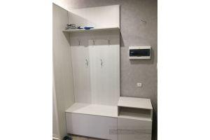 Белая компактная прихожая - Мебельная фабрика «Симбирский шкаф»