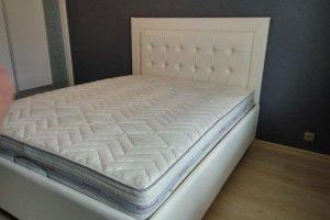 Белая кровать - Мебельная фабрика «ChesterStyle»