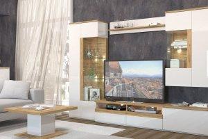Гостиная Тоскано дуб/белый - Мебельная фабрика «ИнтерДизайн»
