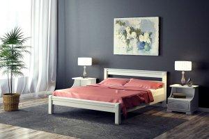 Белая кровать Ева - Мебельная фабрика «DM- darinamebel»
