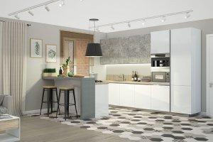 Белая кухня - Мебельная фабрика «Артис», г. Москва