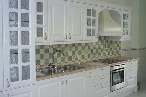 Белая кухня - Мебельная фабрика «Арнада»